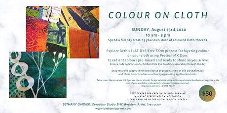 COLOUR ON CLOTH - A Dye Play Day tickets