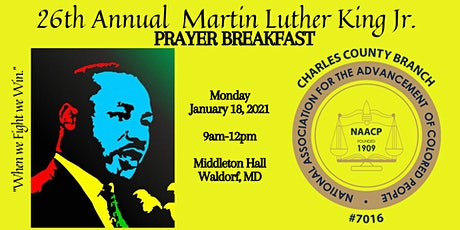 26th Annual Rev. Dr. Martin Luther King, Jr. Prayer Breakfast (2021) tickets