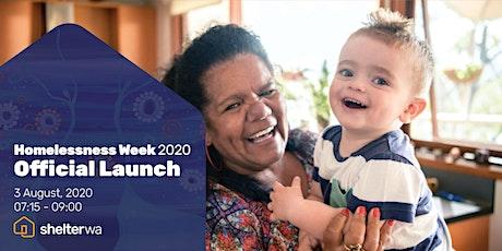 Homelessness Week 2020 - Official Launch tickets