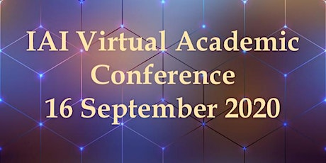 International VIRTUAL Academic Conference  September 16,  2020 tickets