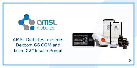 AMSL Diabetes presents Dexcom G6 & t:slim X2 with Basal-IQ (Melville)! tickets