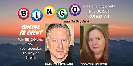 Bingo with the Psychics Troy Griffin & Shelley Robinson tickets