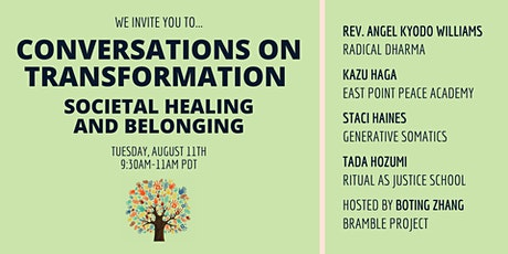Societal Healing and Belonging: Conversations on Transformation tickets