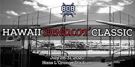 The Hawaii Sandlot Classic tickets