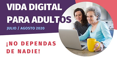 Vida digital para adultos boletos