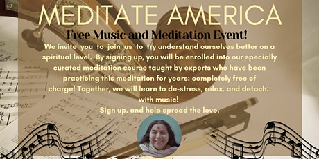 Meditate America Online 2020 (Music and Meditation Program) tickets
