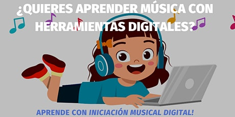 Iniciación musical digital boletos