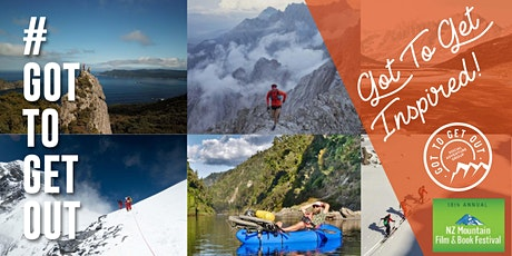 Get Inspired: NZ Mountain Film Festival by #gottogetout tickets