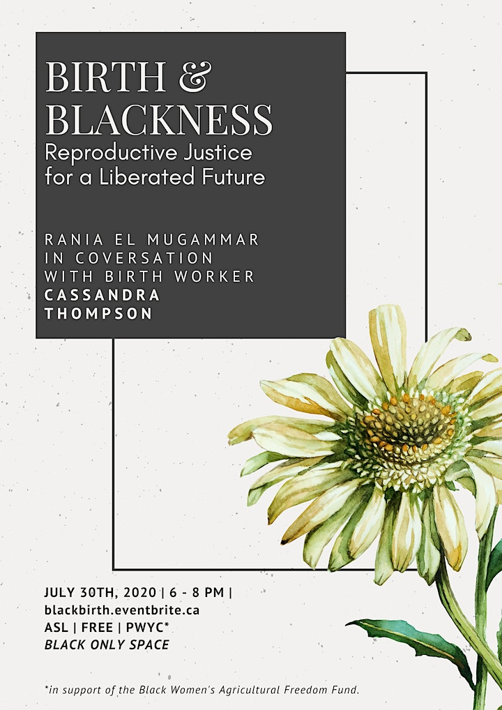 Birth & Blackness: Reproductive Justice for a Liberated Future image