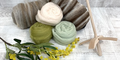 Create @ Blackwattle - Drop Spindle and Fibre Weekend tickets