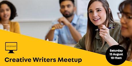 WEBINAR: Creative Writers Meetup tickets