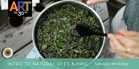 Intro to Natural Pigments & Inks Workshop tickets