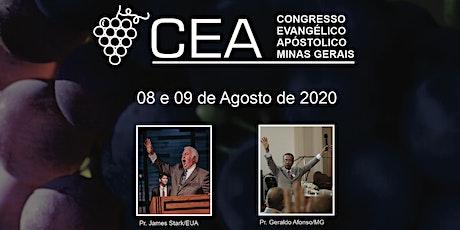 CEAMG - Congresso Evangélico Apostólico de Minas Gerais ingressos