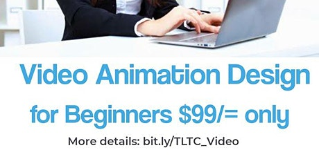 Video Animation Design for Beginners tickets