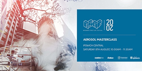 Aerosol Masterclass - Saturday tickets