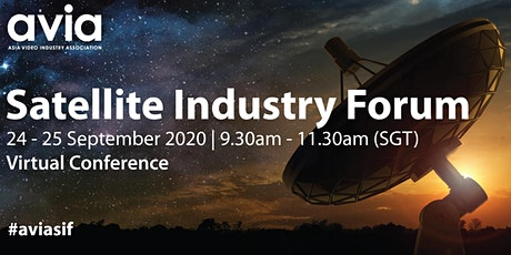 Satellite Industry Forum Tickets