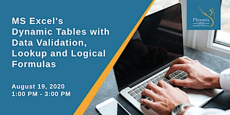 MS Excel's Dynamic Tables with Data Validation, Lookup and Logical Formulas tickets