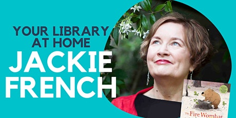 Jackie French Online Author Talk with  Q and A tickets
