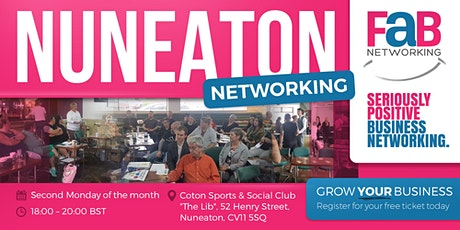 FaB Networking with FindBiz Nuneaton tickets