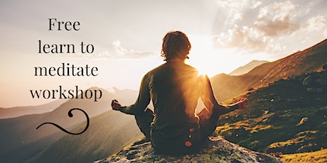 Learn to Meditate | 2-part workshop tickets