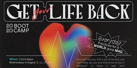 Bootcamp 2020 Get your Life Back series - The Acorn Cafe tickets