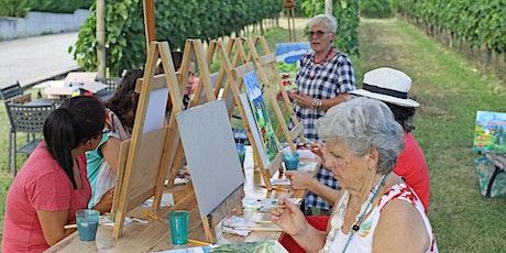 Colour Me Wine! sessione di pittura e degustazione vini biglietti