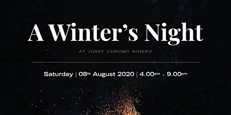 A Winter's Night at Josef Chromy Wines tickets