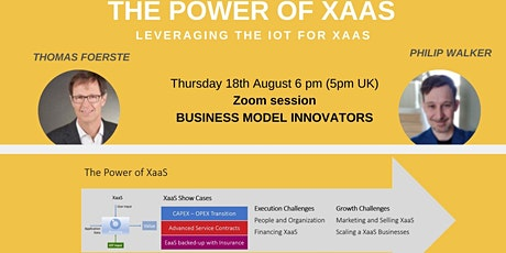 The power of XaaS: Leveraging the IOT for Anything-as-a-Service XaaS tickets