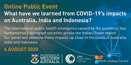 What have we learned from COVID-19's impacts on Australia, India and Indone tickets