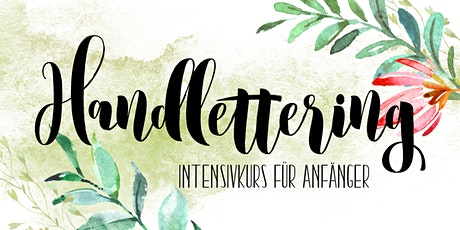 Intensivkurs Handlettering Tickets