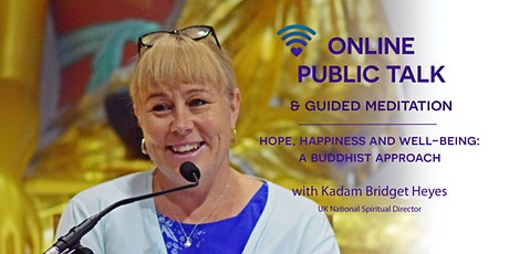 Hope, happiness and well-being: A Buddhist approach tickets