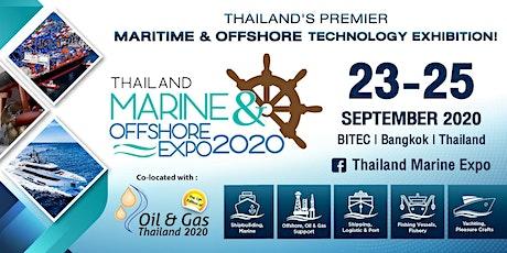 Thailand Marine & Offshore Expo (TMOX) 2020 tickets