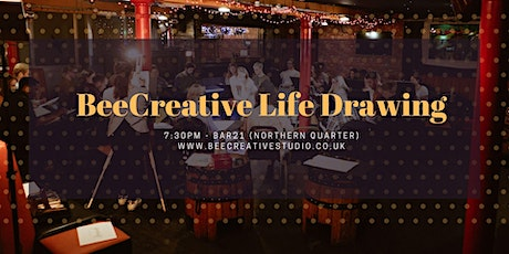 Life Drawing in Manchester Northern Quarter