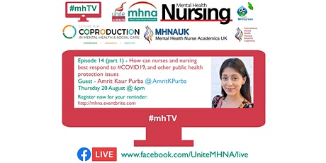 #mhTV episode 14.1 - How can nurses and nursing best respond... tickets
