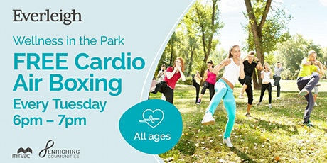 FREE Cardio Air Boxing in the Park tickets