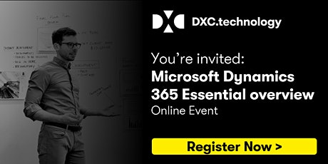 Microsoft Dynamics 365 Essential Overview - Online Event tickets