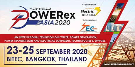 POWERex Asia 2020 and Electric Asia 2020 tickets