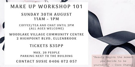 Makeup Workshop 101 tickets