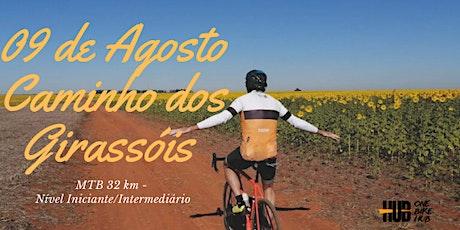 Caminho dos Girassóis - MTB/Gravel - Pedal Iniciante -Domingo ingressos