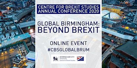Centre for Brexit Studies Conference: Global Birmingham – Beyond Brexit tickets