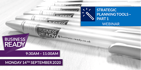 Strategic Planning Tools Webinar - Part 1 tickets