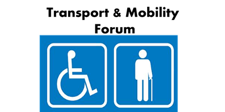 Transport & Mobility Forum 30 July 2020 tickets