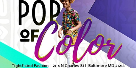 Pop of Color : Summer Pop-up Series tickets