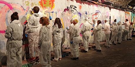 #LeakeStreetLIVE Graffiti Workshops tickets