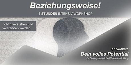 """Online WorkShop: """"Richtig verstehen und verstanden werden"""" Tickets"""