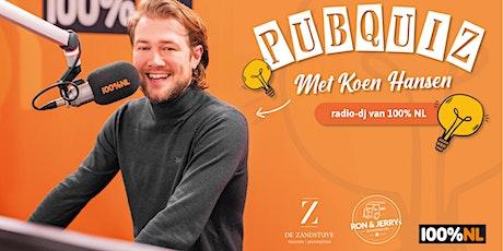 Pubquiz met Koen Hansen tickets