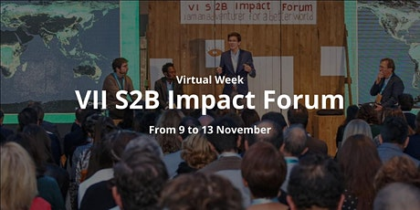 VII S2B Impact Forum 2020 tickets