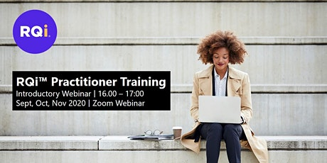RQi Practitioner Training - Introductory Webinar tickets