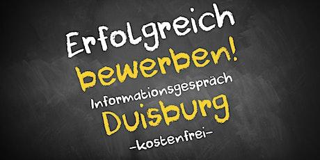 Bewerbungscoaching Online kostenfrei - Infos - AVGS Duisburg Tickets