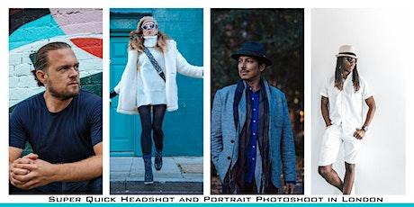 Headshot Photoshoot In London tickets